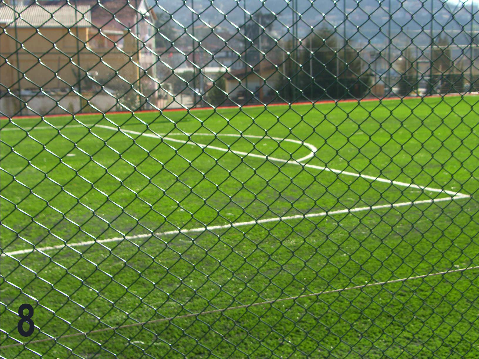 tel çit, halı saha tel çit, halı saha teli,