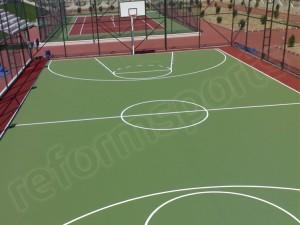 Akrilik Zemin Basketbol Sahası-2