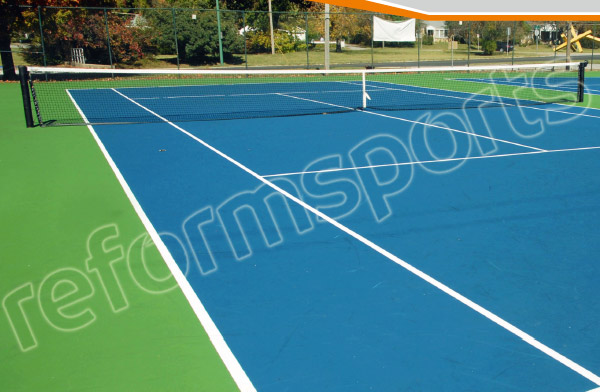 Akrilik Zemin Tenis Kortunun Resmi