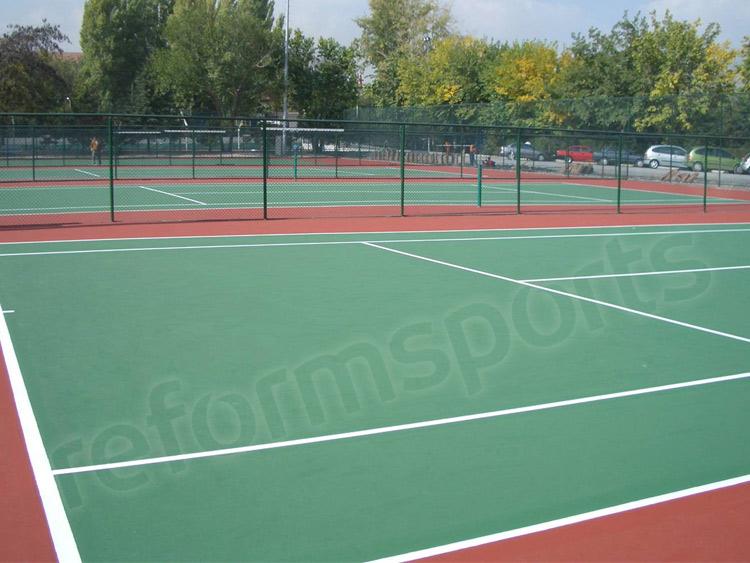 Akrilik Zemin Tenis Kortu