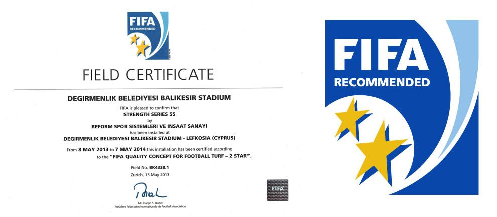 Fifa 2 Star Sertifikası