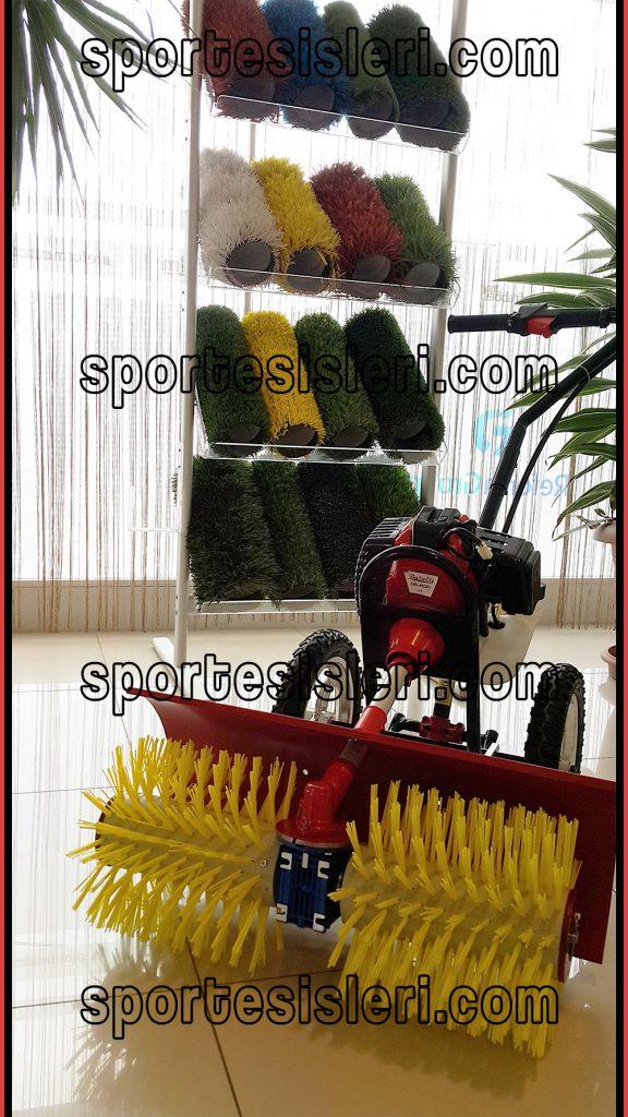 suni çim makinesi, suni çim bakım makinesi, suni çim bakımı,