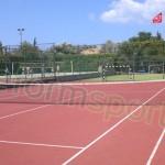 Tartan Zemin Tenis Kortunun Uygulama Örnekleri -1