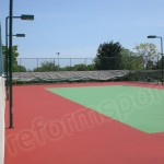 Tartan Zemin Tenis Kortu -3