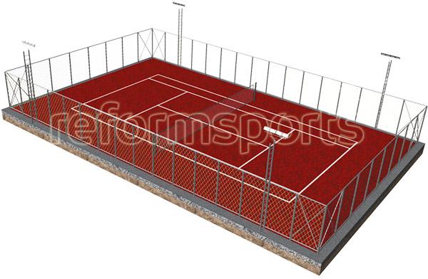 Tartan Zemin Tenis Kortu